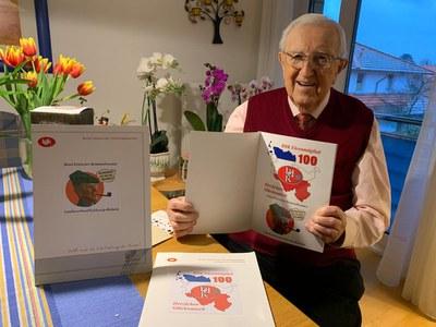 100 Jahre ! - Herzlichen Glückwunsch Herbert Kühn!