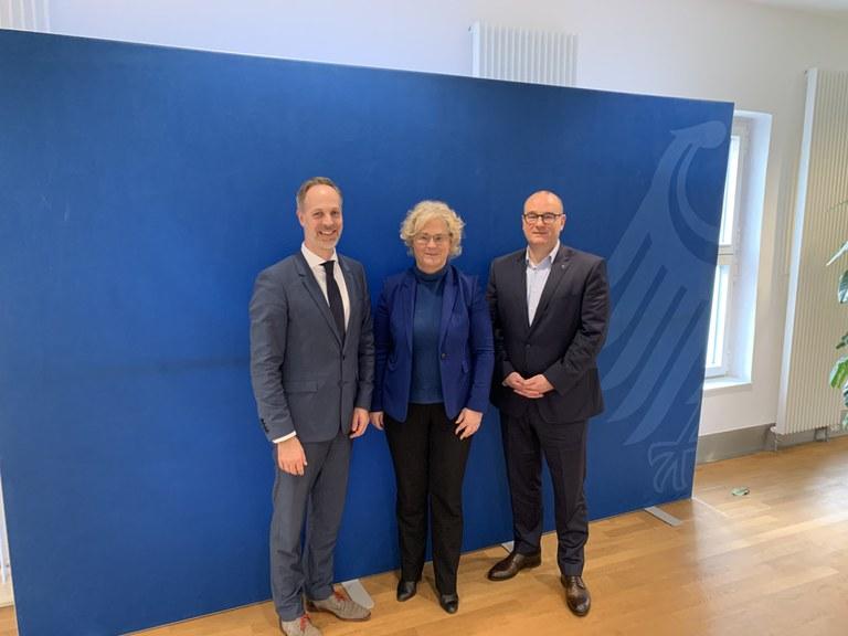 BDK im Gespräch mit der Ministerin für Justiz und Verbraucherschutz, Christine Lambrecht