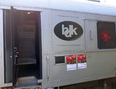 """BDK präsentiert Antidrogenzug """"Revolution Train"""" erstmals in Berlin und Dresden"""