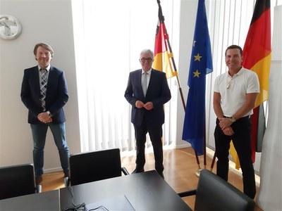 BDK Rheinland-Pfalz im Gespräch mit Innenminister Lewentz