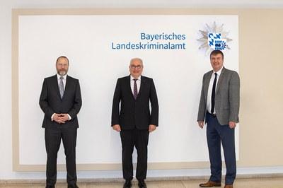 Besuch beim Präsidenten des Bayerischen Landeskriminalamtes
