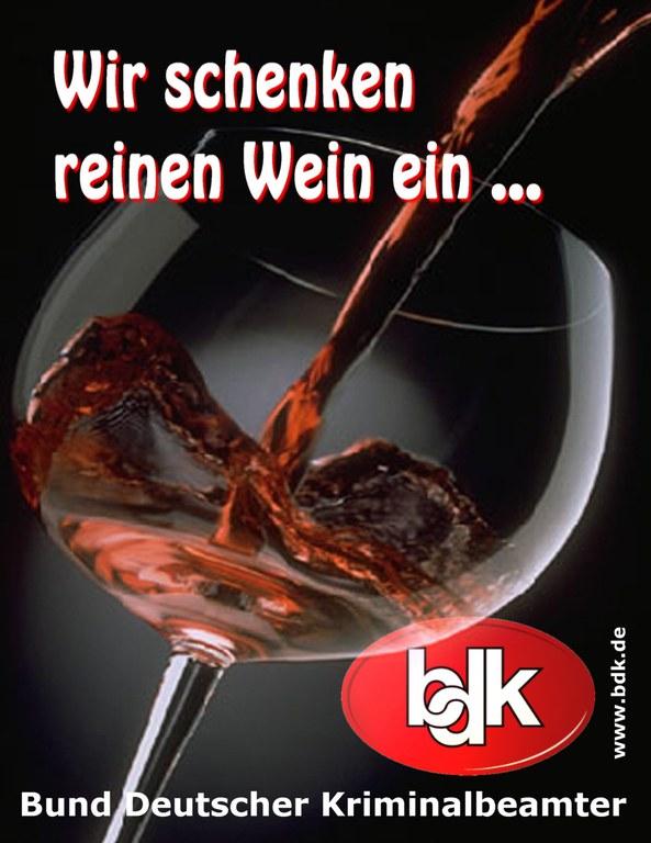 Der BDK-Wein - eine weitere kompetente Spezialität aus dem Land der Dichter und Denker