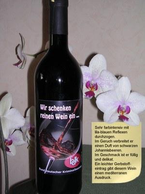 So beschreibt der Winzer den BDK-Wein