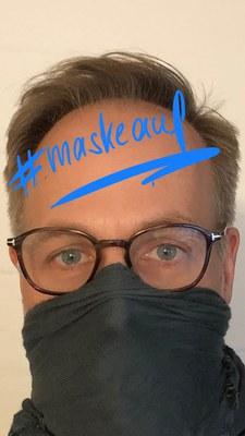 Bund Deutscher Kriminalbeamter unterstützt Initiative #maskeauf