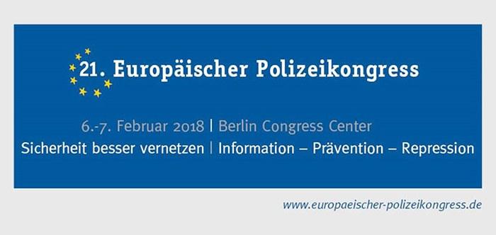 Der BDK auf dem 21. Europäischen Polizeikonress in Berlin