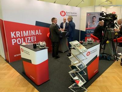 Der BDK beim Europäischen Polizeikongress