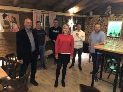 Hüttengespräch mit Frau MdL Katharina Schulze