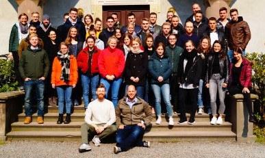 Rheinland-Pfälzer Kollegen beim Seminar Junge Kripo