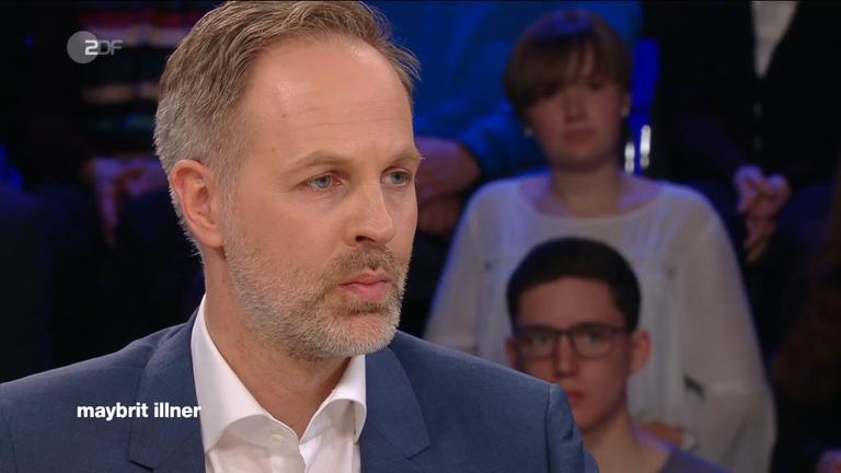 Sebastian Fiedler zu Gast bei Maybrit Illner