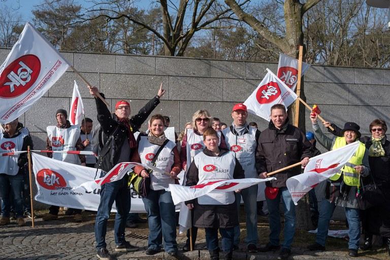 Tarifrunde 2019 – BDK zeigt Flagge!