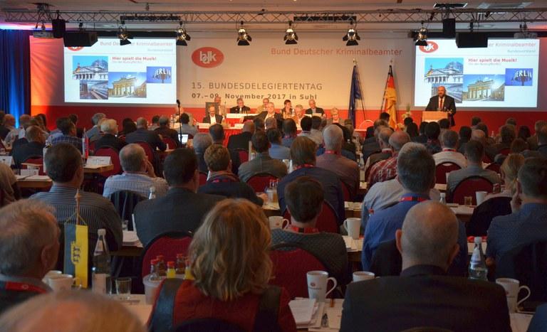 Delegierte des 15. Bundesdelegiertentages stellen Weichen für die kommenden Jahre