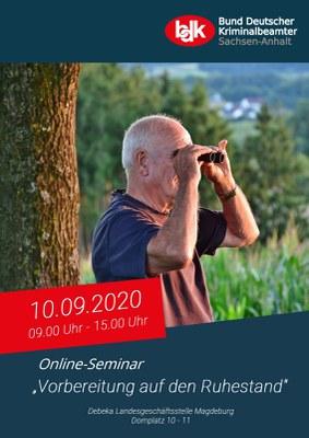"""Seminar """"Vorbereitung auf den Ruhestand"""""""