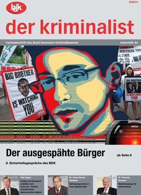 """""""der kriminalist"""" 03/2014"""