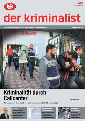 """""""der kriminalist"""" 03/2016"""