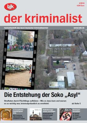 """""""der kriminalist"""" 04/2016"""