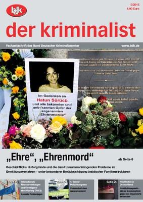 """""""der kriminalist"""" 05/2015"""