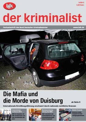 """""""der kriminalist"""" 06/2015"""