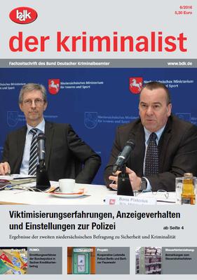 """""""der kriminalist"""" 06/2016"""