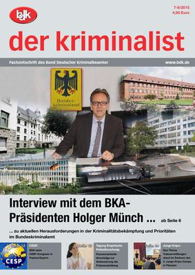 """""""der kriminalist"""" 07-08/2015"""