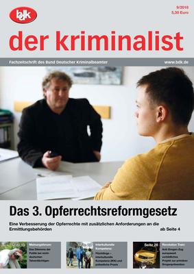 """""""der kriminalist"""" 09/2016"""