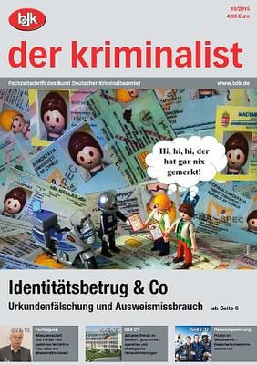 """""""der kriminalist"""" 10/2015"""