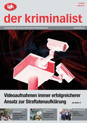 """""""der kriminalist"""" 11/2015"""