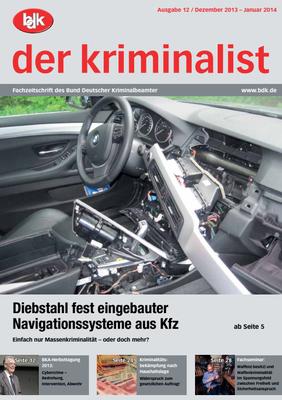 """""""der kriminalist"""" 12/2013-01/2014"""
