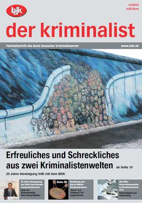"""""""der kriminalist"""" 12/2015"""
