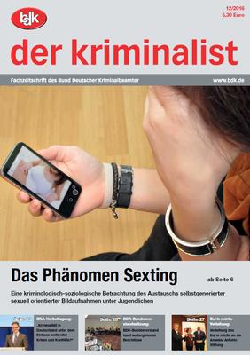 """""""der kriminalist"""" 12/2016"""
