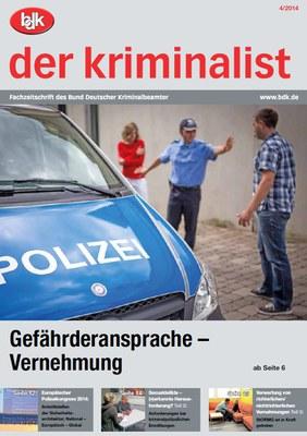 """""""der kriminalist"""" 04/2014"""