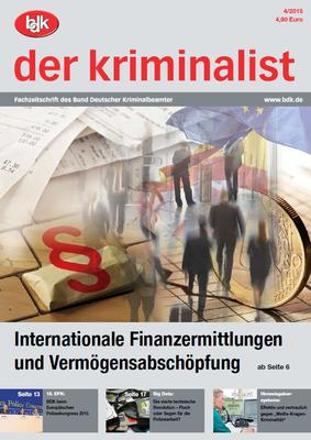"""""""der kriminalist"""" 04/2015"""