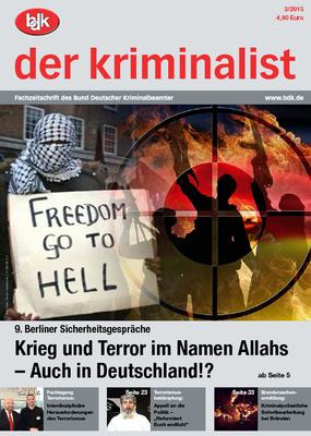 """""""der kriminalist"""" 03/2015"""
