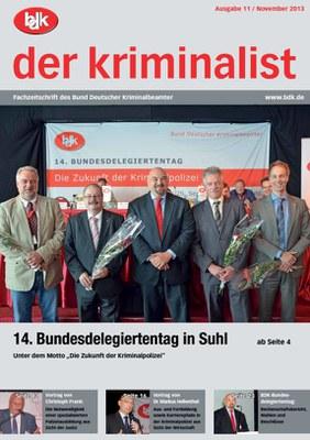 """""""der kriminalist"""" 11/2013"""