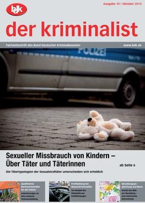"""""""der kriminalist"""" 10/2013"""