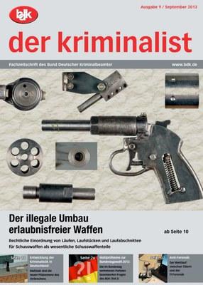 """""""der kriminalist"""" 9/2013"""