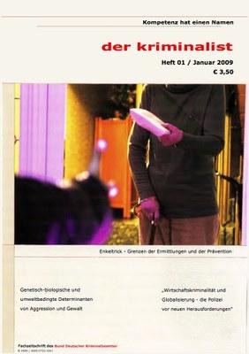 """""""der kriminalist"""" 1/2009"""