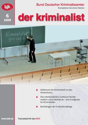 """""""der kriminalist"""" 6/2009"""