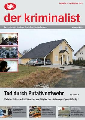 """""""der kriminalist"""" 9/2012"""