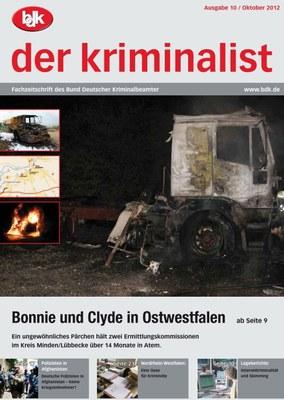"""""""der kriminalist"""" 10/2012"""