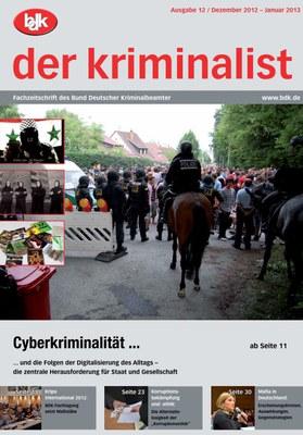 """""""der kriminalist"""" 12/2012 – 01/2013"""