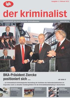 """""""der kriminalist"""" 2/2013"""
