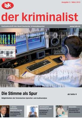 """""""der kriminalist"""" 3/2013"""