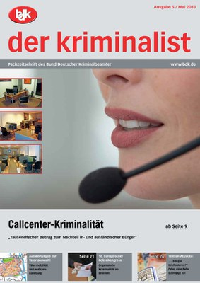"""""""der kriminalist"""" 5/2013"""