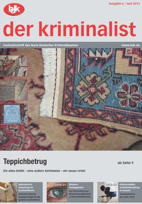 """""""der kriminalist"""" 6/2013"""